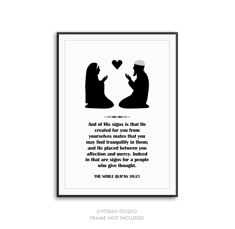 Ring clipart islamic wedding For Etsy His from He