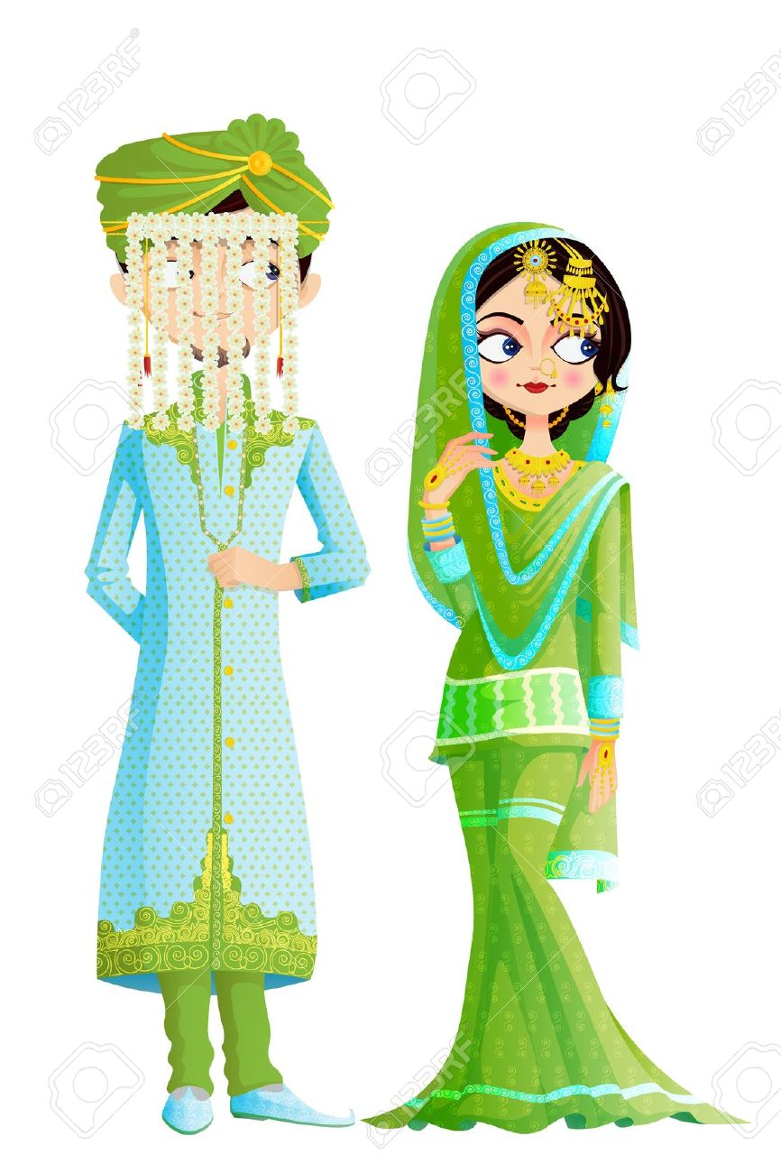 Bride clipart islamic #7