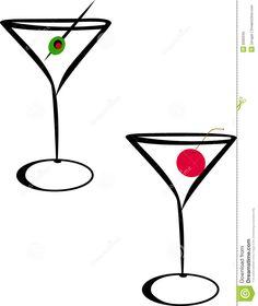 Wodka clipart martini glass Glass Ideas Glass Line Cocktail