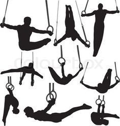 Ring clipart men's gymnastics Rings  'Gymnastics Vector Gymnastics