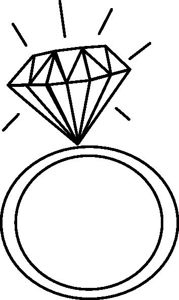 Sketch clipart diamond outline Clip art Download art svg