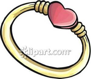 Ring clipart pink ring #12