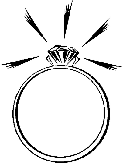 Ring clipart pink ring #15