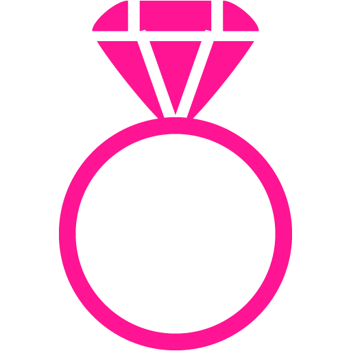 Ring clipart pink ring #11