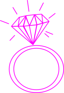 Ring clipart pink ring #1