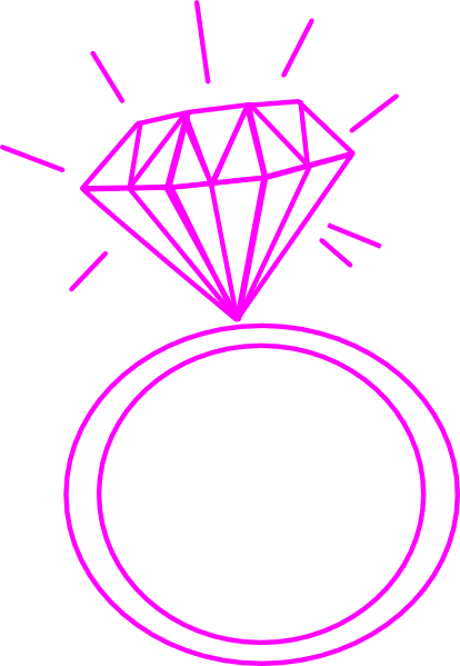 Ring clipart pink ring #3