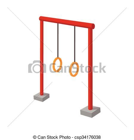 Ring clipart playground Cartoon  children Gymnastic of