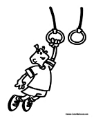 Ring clipart playground Playground Coloring Rings Playground Pages