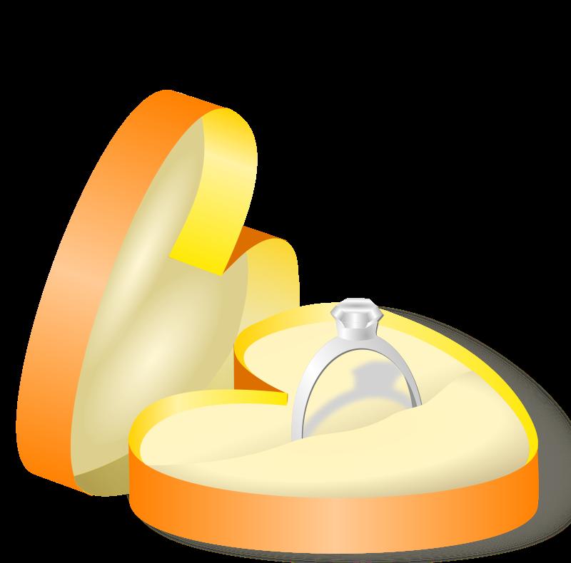 Diamond clipart ring box Ring Wedding Box Engagement Free