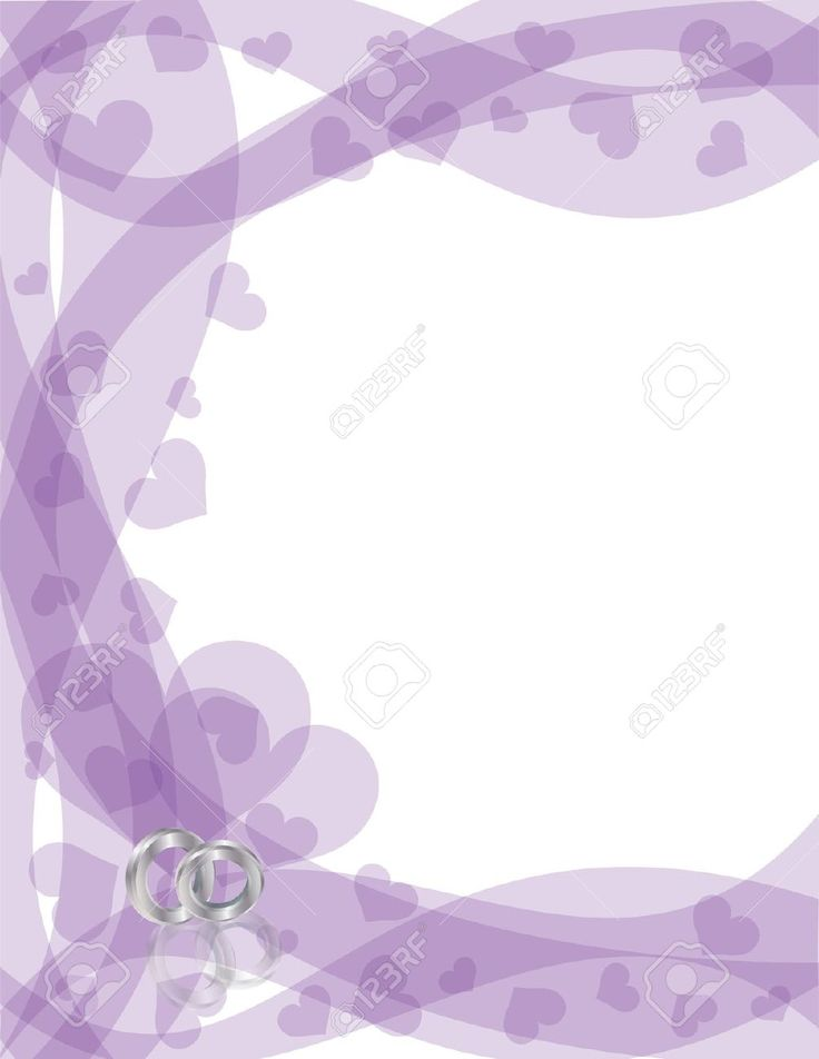 Ring clipart purple wedding On background lavender Invitation Wedding