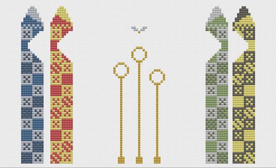 Ring clipart quidditch Pitch Cross Quidditch Stitch Pattern
