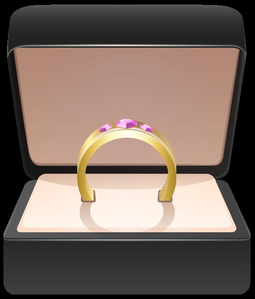 Diamond clipart ring box A Clipart Box art Clipart