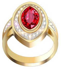 Ring clipart ruby ring With Ring Diamond PNG Diamonds