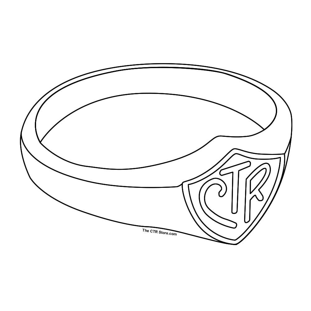 Ring clipart sacrament CTR Share Coloring Sheet3 Sheet