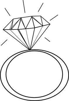 Ring clipart tiffany engagement ring 6 Engagement Engagement Ring Outline