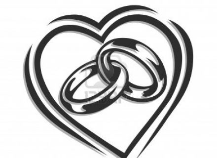 Ring clipart two Wedding clipart two rings download
