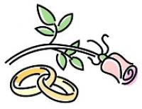 Ring clipart two Design Clipart Rings Wedding Wedding
