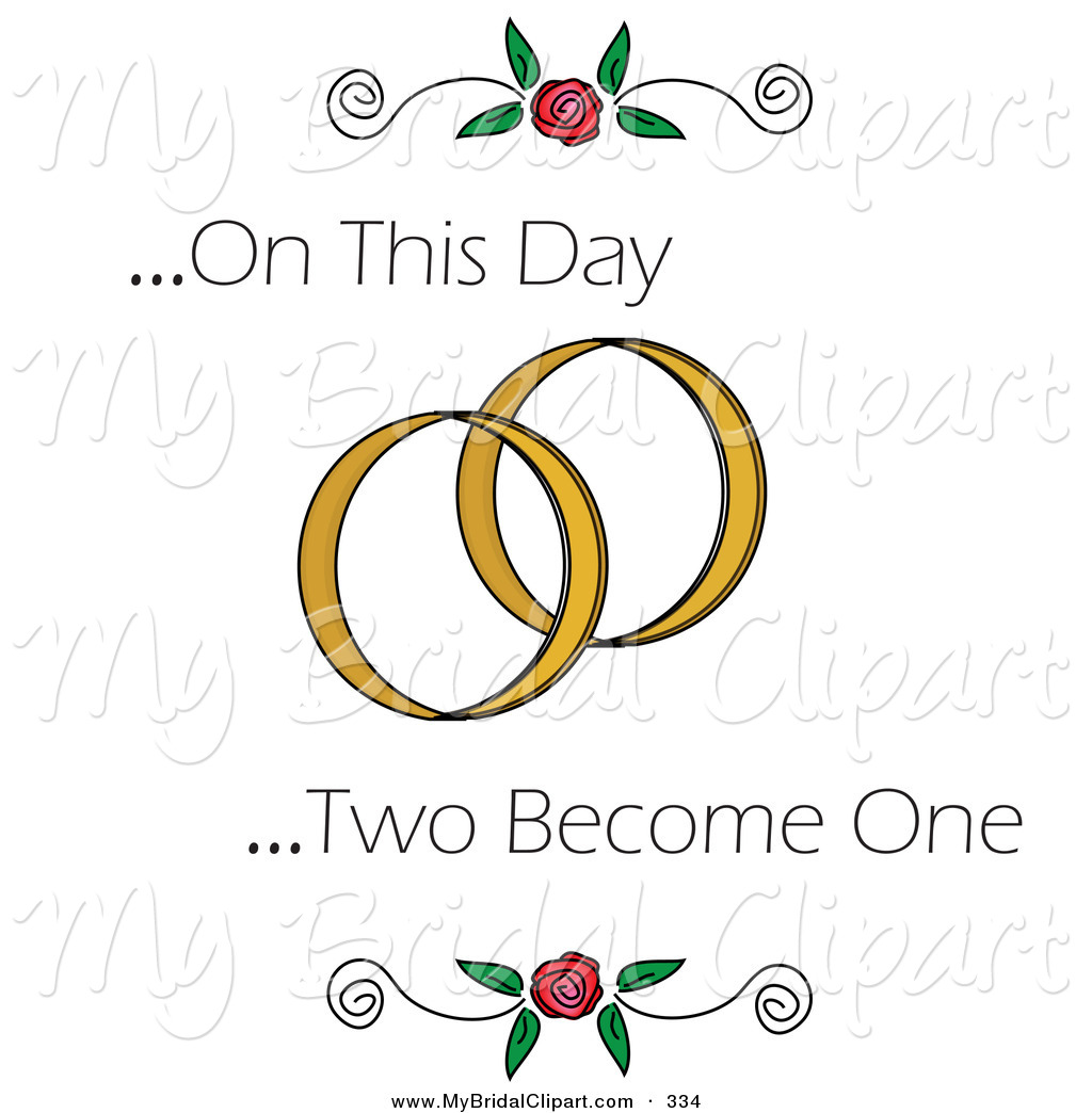 Ring clipart two White Day Ring Wedding Become