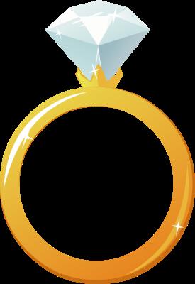 Diamond clipart engagement ring Wedding clipart ring clipart Wedding