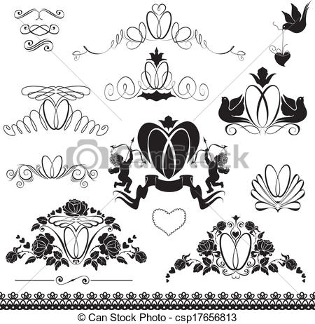 Ring clipart wedding decoration Of wedding wedding Clip calligraphic
