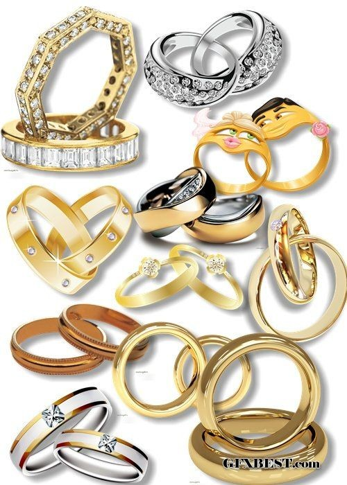 Ring clipart wedding decoration Png blog: Wedding rings 2085x24925815x4138