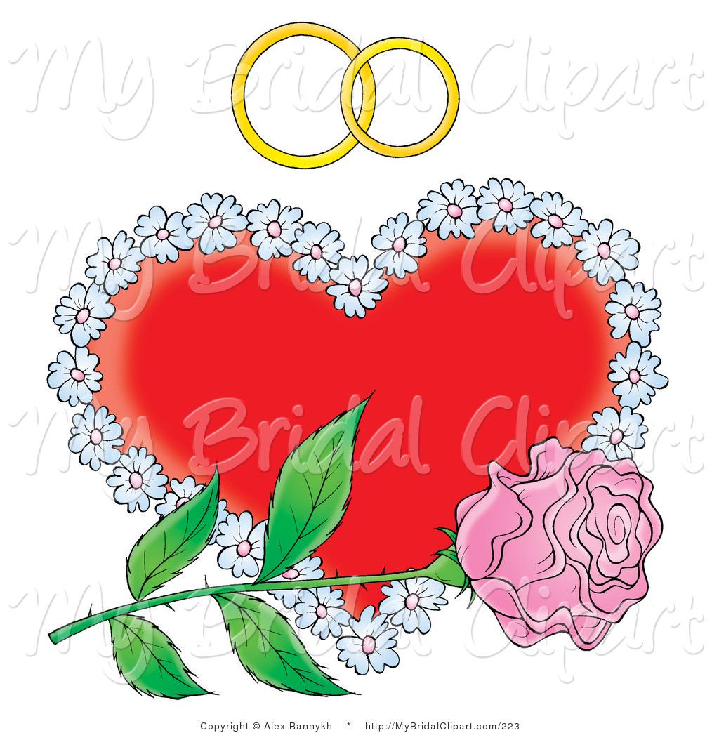 Ring clipart wedding flower #6