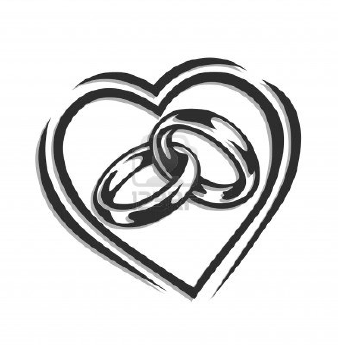 Silver clipart interlocking ring Images wedding%20ring%20clipart Heart Wedding Clipart
