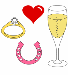 Ring clipart wedding horseshoe #5