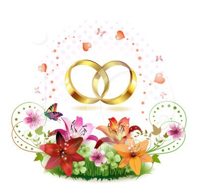 Ring clipart wedding vows #3