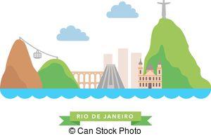 Rio De Janeiro clipart  Vector on  Aqueduct
