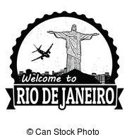 Rio De Janeiro clipart Welcome welcome stamp  Janeiro