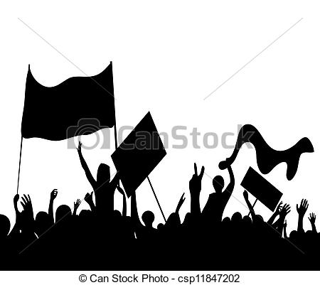 Riot clipart Protester 2 Art free Illustrations