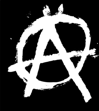 Anarchy clipart riot Free clip Anarchysign vector art
