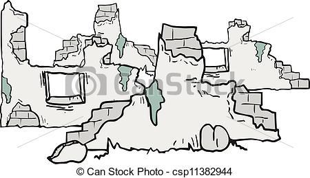 Riuns clipart Cartoon ruins csp11382944 ruins Creative