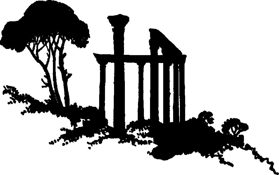 Riuns clipart Ruins Black and – and