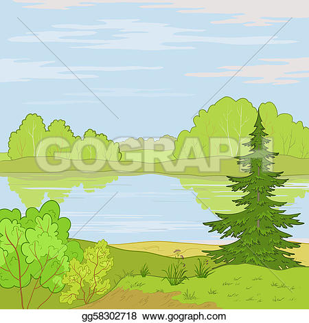 Clouds clipart sky blue Stock white Summer Stock Drawing