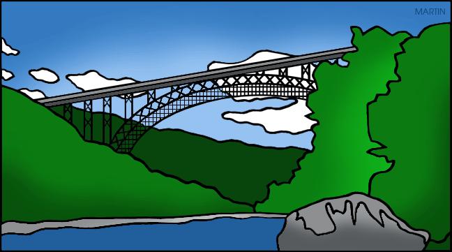 Bridge clipart river Color Martin Bridge Clip by