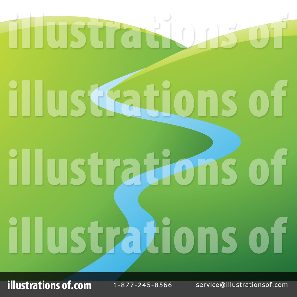 River clipart natural scene Clipart Royalty #1220634 Illustration Free