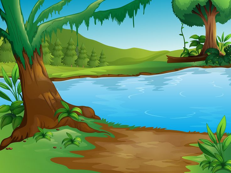 River Landscape clipart mountain river Яндекс Best on 20+ ideas