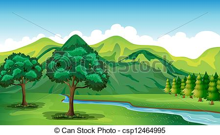 River Landscape clipart mountain river 939  645 a Images