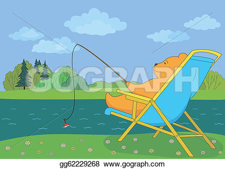 River Landscape clipart river fish #7