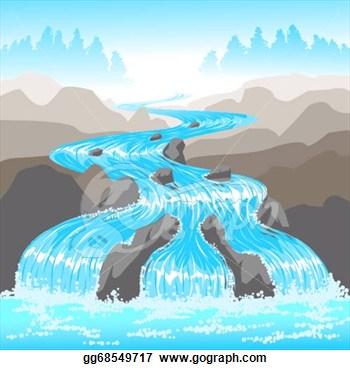 River Landscape clipart river flow Clipart Images Free River Art