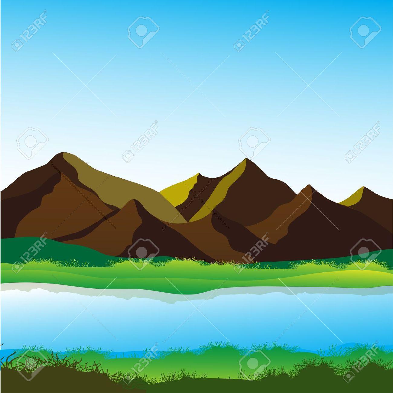 River Landscape clipart Clip Landscape Rivers Download Clip
