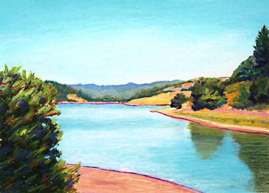 Blue Water clipart river Blue com Clip River Clipartion