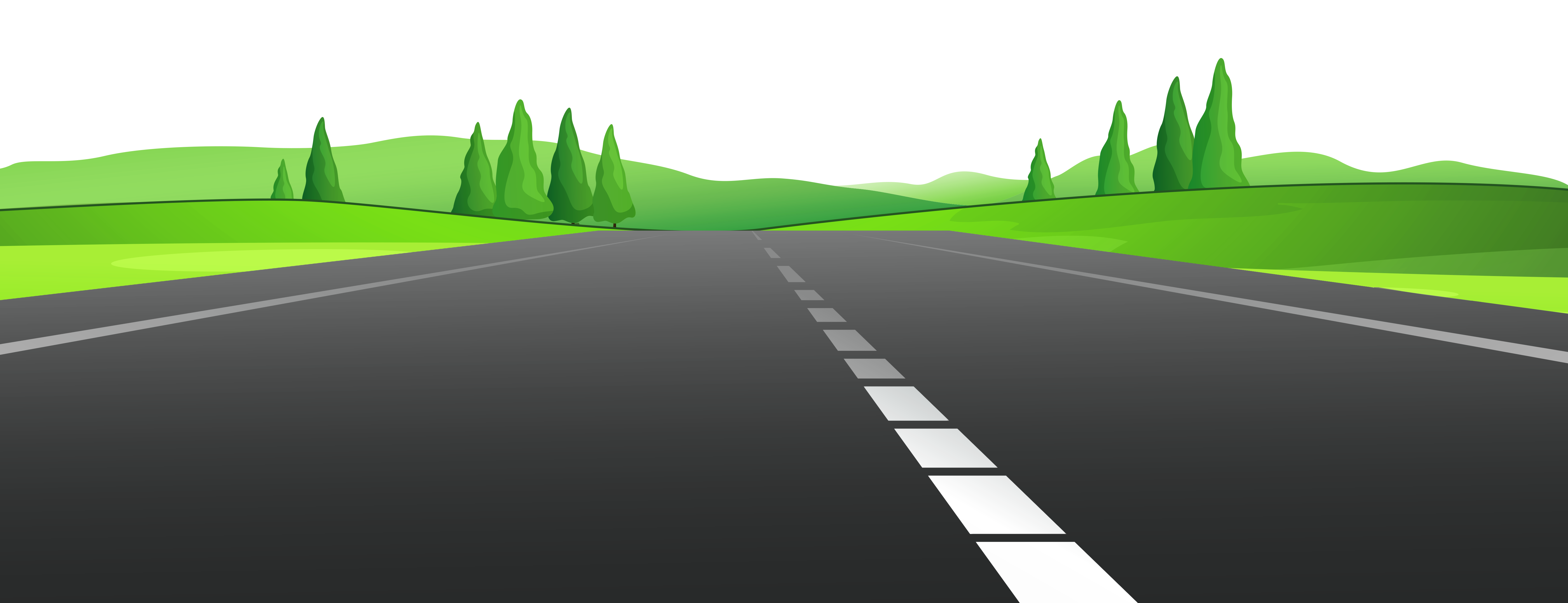 Freeway clipart road background #3