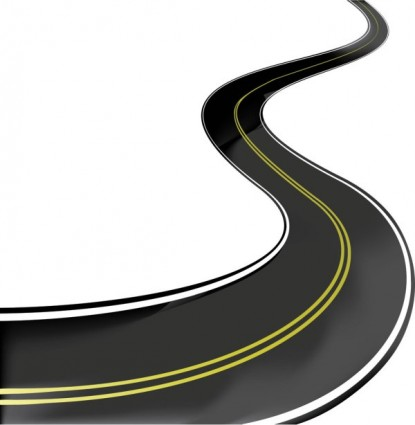 Race clipart road #2