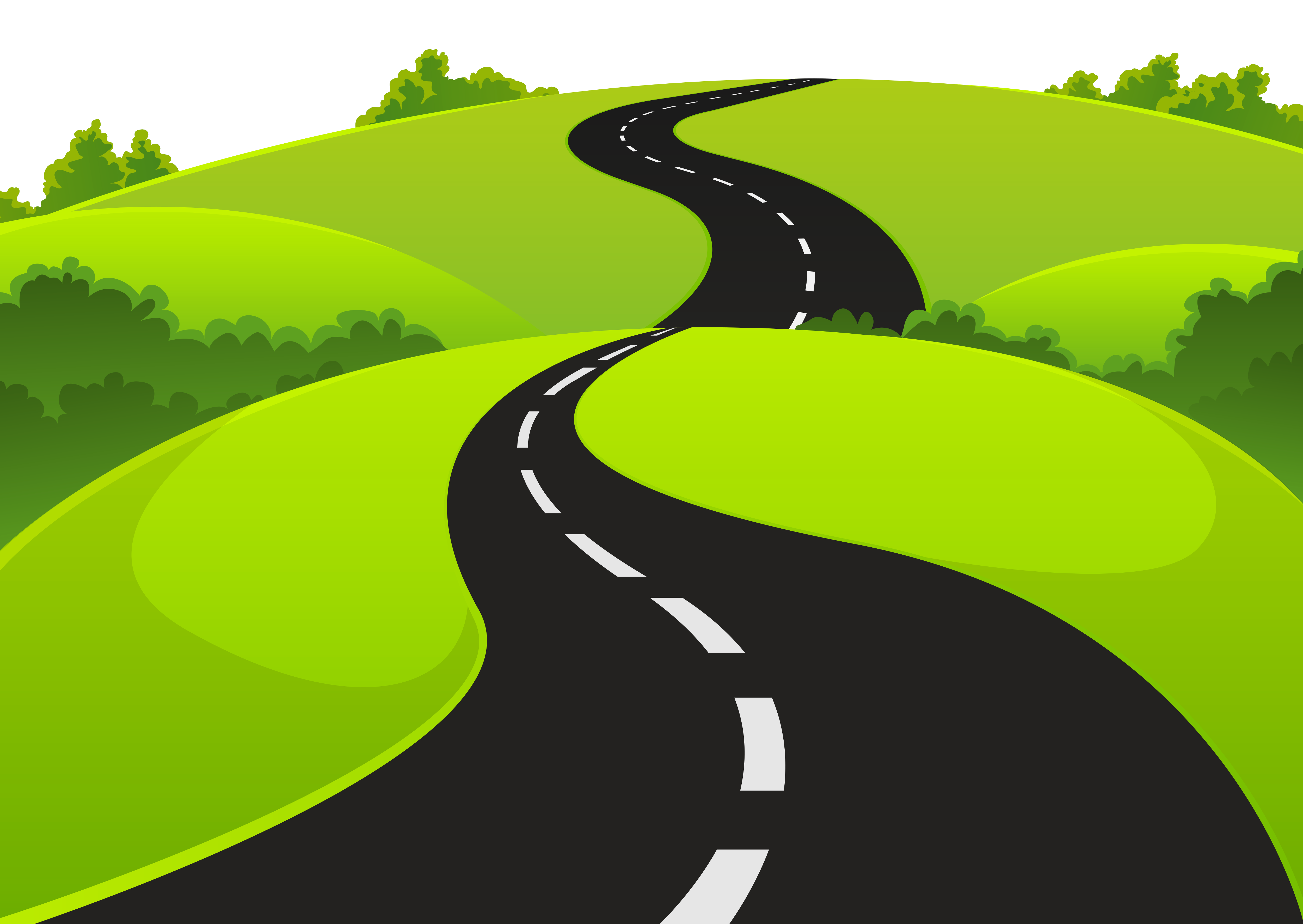 Countyside clipart windy path Road Clip – Clipart Road