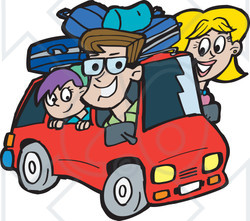 Road clipart family road trip #4