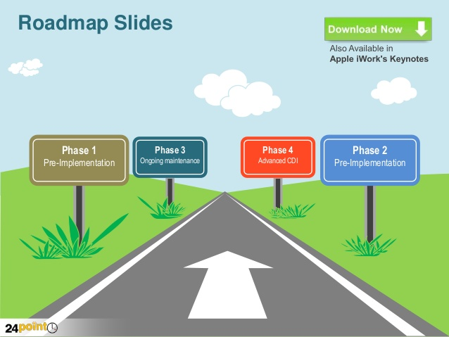 Road clipart powerpoint #6