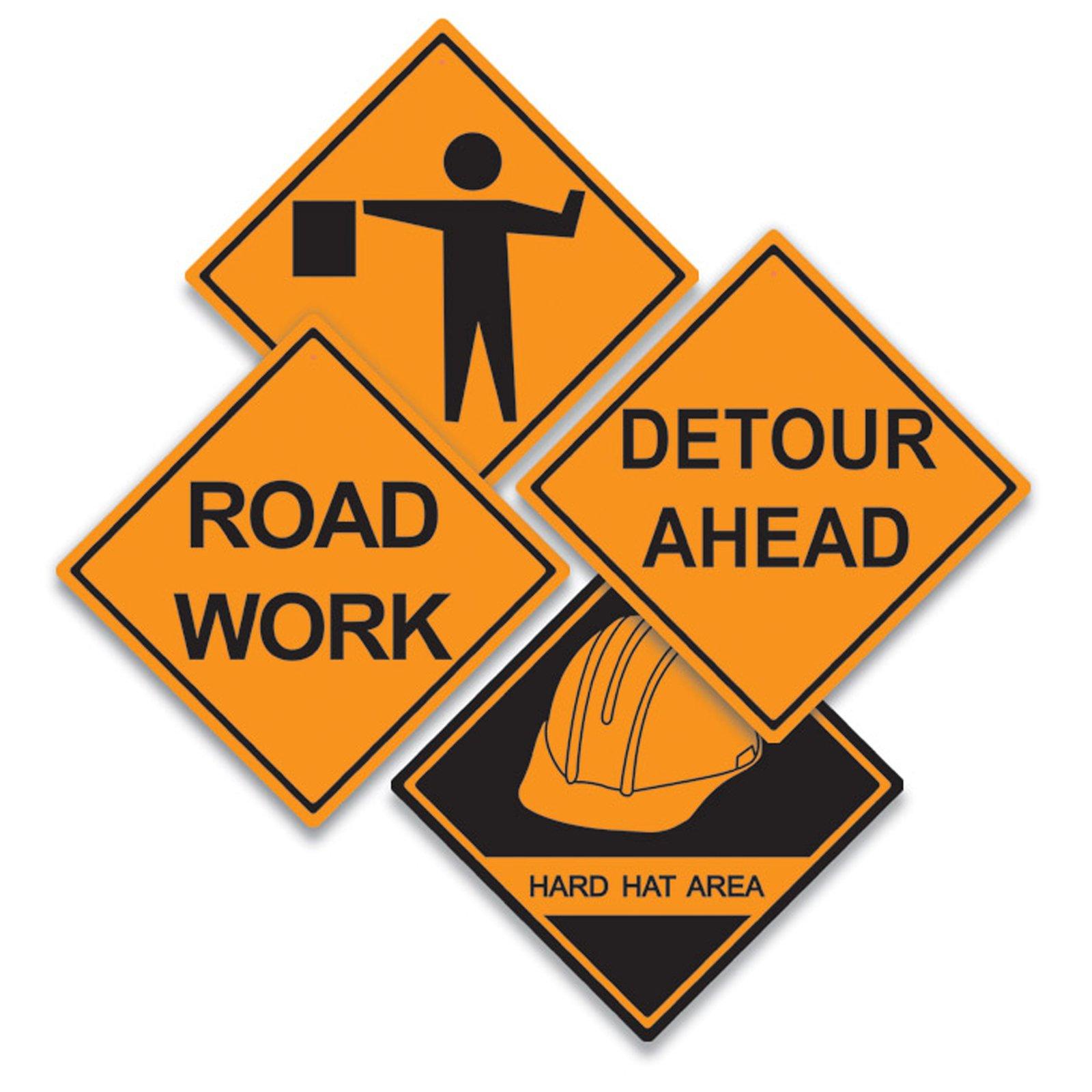 Road clipart road construction Road  Clip Art Construction